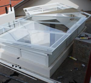 Roof-skylights | Products - Aluk Aluminium Fabricators